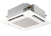 4方向天井埋め込み型エアコン