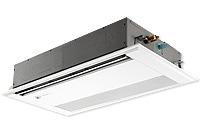 1方向天井埋め込み型エアコン