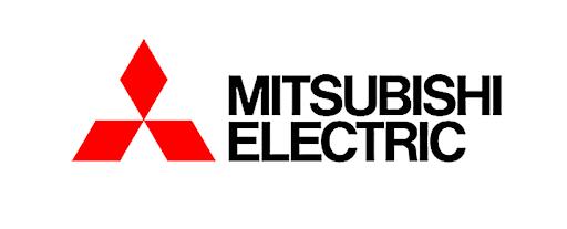 業務用エアコンを提供する三菱のメーカーロゴ
