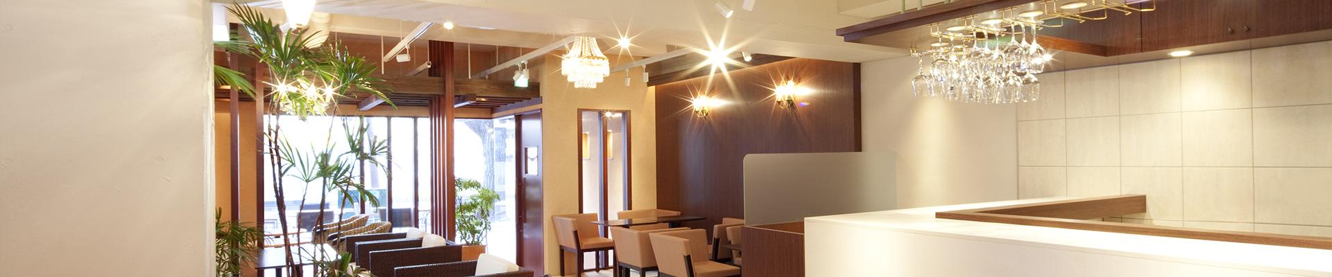 飲食店の業務用エアコンの施工実績ページイメージ画像